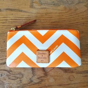 Dooney & Bourke Small Leather Zipper Pouch Wallet